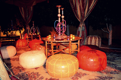 Hookah-and-Seating